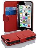 Cadorabo Coque pour Apple iPhone 5C en Rouge Cerise - Housse Protection en...