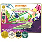 Logic Roots Math Builder Board Game for Kids - Fun Learning Game for 8 - 12 Year Olds, Educational STEM Toy to Master Equation Building, for Girls & Boys, Homeschoolers, Grade 3 and Up