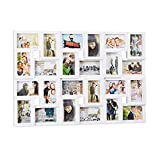 Relaxdays Cadre Photos pêle-mêle Collage 24 Images, Mur, 10 x 15,...