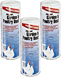 Prozap (3 Pack Garden & Poultry 2-Pounds Each Poultry Dust