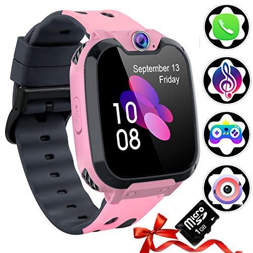 Reloj Inteligente para Niños, Tarjeta SD Incluida ,Smartwatch...