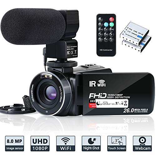 516sk8CsIEL - The 7 Best Budget Camcorders