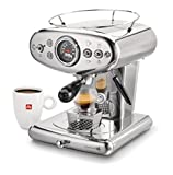 illy X1 Espresso Machine, 13 x 9.8 x 10.60, Stainless