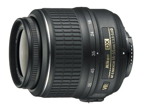 Nikon AF-S DX Nikkor - Objetivo (de 18 a 55mm, f/3,5 a 5,6, reducción de la vibración VR)