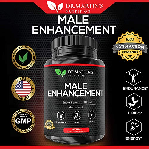 Male Enhancement Supplement | 180 Capsules | 3 Month Supply | Boosts Energy, Testosterone, Endurance & Enhances Muscle Growth | with Gingseng, Maca, Tongkat Ali | Healthy Weight Loss and Fat Burning 5