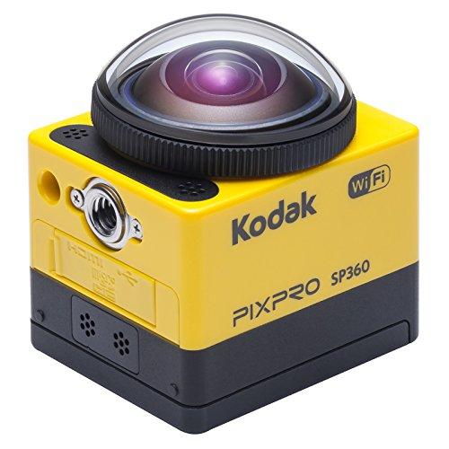 Product Image 1: Kodak PixPro SP360 fotocamera per sport d'azione Full HD MOS 17,52 MP 25,4/2,33 mm (1/2.33″) Wi-Fi 103 g