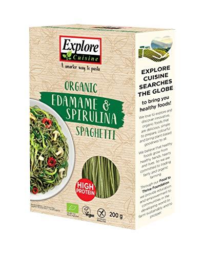 Spaghetti aus Edamame & Spirulina, BIO, vegan, glutenfrei, mit hohem Proteingehalt, 200g
