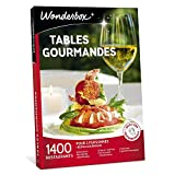 Wonderbox - Coffret cadeau couple- TABLES GOURMANDES – 1400...