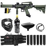 Maddog Tippmann Cronus Tactical Titanium CO2 Paintball Gun Marker Starter Package - Black/Olive