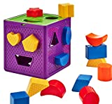 Original Shape Sorter | Babies & Toddlers | 18 Colorful Pieces | Boys & Girls | Ages 1-5 Years Old | Great Gift !!