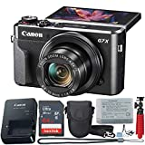Canon PowerShot Digital Camera G7 X Mark II with Wi-Fi & NFC, LCD Screen, and 1-inch Sensor -...