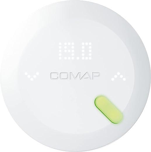 COMAP QTW11-GW-CO-EU / L15102001 Thermostat connecté Contact Sec Smart Home, Blanc, 105x105x25 mm