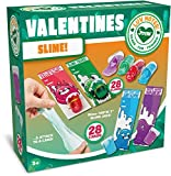 JOYIN 28 PCS Valentines Day Gifts Cards for Kids with Slime Party...