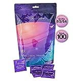 Paquet de 100 préservatifs VIBRATISSIMO « Mix » extra lubrifiés...