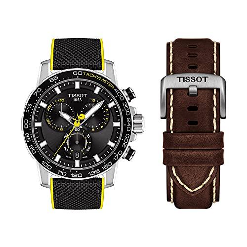 [ティソ] スポーツウォッチ TISSOT スーパースポーツ、クロノ ツール・ド・フランス スペシャルエディション T1256171705100 メンズ ブラウン