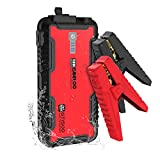 GOOLOO 1500A Peak SuperSafe Car Jump Starter (Up to 8.0L Gas or 6.0L Diesel Engine) with USB Quick Charge, In & Out Type-C Port,12V Portable Water Resistant Power Pack Auto Booster Battery Charger
