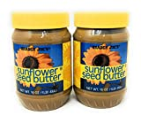 Trader Joe's Sunflower Seed Butter 16oz (454g), 2 Pack