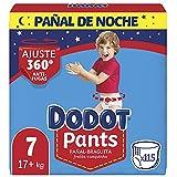 Dodot Pañales Bebé Pants Talla 7 (+17 kg), 115 Pañales, Pañal-Braguita con...