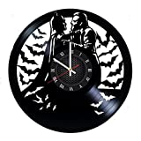 oker Batman Vinyl Record Wall Clock Gift For Fans Great Idea Home Decor DC Comics Vintage Decoration - Buy gift for everybody