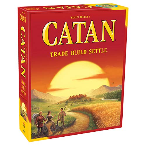 CATAN Board Game (Base Game) | Family Board Game | Board Game for Adults and Family | Adventure Board Game | Ages 10+ | For 3 to 4 players | Average Playtime 60 minutes | Made by Catan Studio (Board Game)