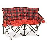 Guide Gear XL Club Love Seat, 500-lb. Capacity, Red Plaid, XL