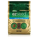 Scotts EZ Seed Patch and Repair Sun and Shade - 20 lb., Combination Mulch, Seed, and Fertilizer, Repairs Bare Spots, Includes Tackifier to Reduce Seed Wash-Away, Seeds up to 445 sq. ft.