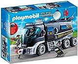 Playmobil Camion policiers d'élite avec sirène et gyrophare, 9360