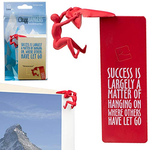 Cliffhangers Bookmark Novelty Gift Idea Inspirational Quote...