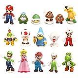 BESTZY Mario Jouets 10PCS Mario Figurines Miniatures Hot Game Animal Dolls Toys...