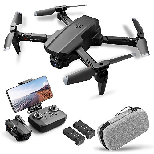 Goolsky LS-XT6 RC Drone con Fotocamera 1080P Telecamera Traccia Volo Sensore di gravit Gesto Foto Video Altitudine Tenere modalit Senza Testa Quadricottero RC per Adulti Bambino