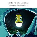 Dewel Lanterne Exterieur Lampe Anti-Moustiques 2 en 1...