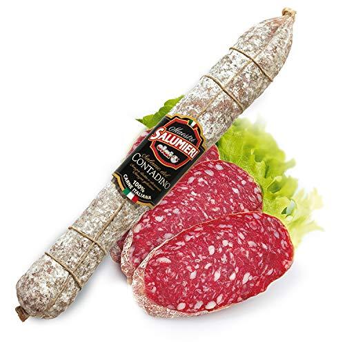Salame Contadino 1 kg - 100% carne italiana - CLAI Maestri Salumieri