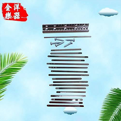 HAIHF Kalimba Thumb Piano,Alta qualit Pianoforte a Pollice Accessori Pezzo per Pianoforte Sonno Musica ecoscandaglio Carlin Bar Shrapnel assemblato a Mano Accessori