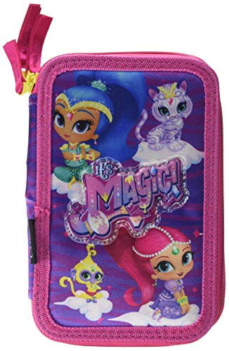 Cerd Nickelodeon Shimmer and Shine 2700000243, Astuccio 3 Scomparti, Bambina, 19cm, 43 Accessori...