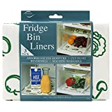 Envision Home 432700 Fridge Bin Liners, 3 count, 12-Inch by 24-Inch, White