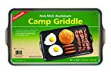 Coghlan's Two Burner Non-Stick Camp Griddle, 16.5 x 10-Inches Black
