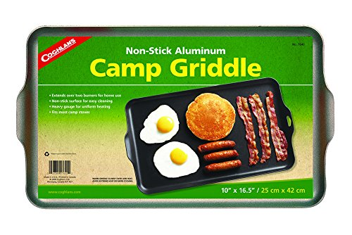 Coghlan's Two Burner Non-Stick Camp Griddle, 16.5 x...