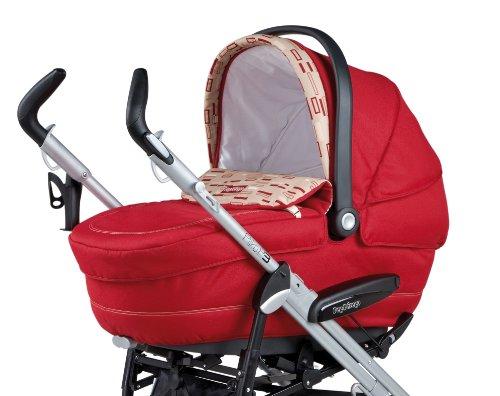 Peg Perego - Navicella per carrozzina Navetta XL, colore: Rosso