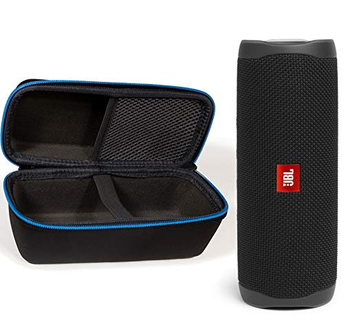 JBL Flip 5 Waterproof Portable Wireless Bluetooth Speaker Bundle with divvi! Protective Hardshell...