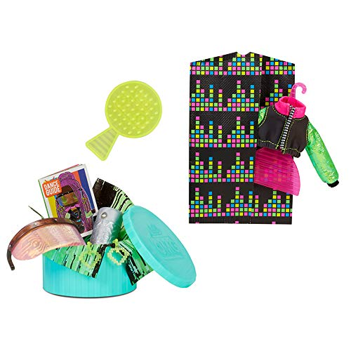 Image 2 - Poupée mannequin LOL Surprise OMG Dance Dance Dance virtuelle, avec 15 Surprises, vêtements stylés, Lumière noire magique, Accessoires, Chaussures, Socle, pack TV. Pour fille de 4 ans et plus