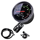"""MakeTheOne Old School Style Bike Speedometer Analog Odometer Classic Style for 24""""-27.5"""" Bicycle"""