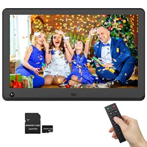 Digital-Picture-Frame-12-Inch-IPS-Screen-1920x1080-169-Photo-Auto-Rotate-Motion-Sensor-Detection-1080P-Video-Frame-Auto-Turn-OnOff-Auto-Play-Background-Music-Include-32GB-SD-Card