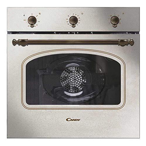 Candy FCC603NAV Forno elettrico ventilato, 65 lt, Classe energetica A+, Colore Avena