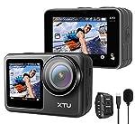 【デュアルカラースクリーン搭載&30M防水】「XTU MAX」アクションカメラの特長は、2.0インチのメインスクリーンと1.4インチのフロントスクリーンの液晶デュアル。二つのスクリーンでプレイヤーとしてもカメラマンとしても楽々撮影!アクションカメラの超高画質で、スマホのように手軽に使いこなせます;気密性・防水性に優れたボディを持つ「XTU MAX」アクションカムは5M防水。突然の雨への対応はもちろん、サーフィンやダイビング等のお供にも最適。付属の防水カバーを装着すると防水レベルは格段にアップ。操...