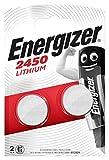 Lot DE 2 Piles ENERGIZER CR2450-1 Blister DE 2 - Lithium 3V