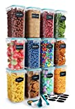 Chef's Path Lot de 12 boîtes de conservation hermétiques pour la cuisine et le...
