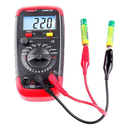 Multimeter Digital Capacitance Meter, cciyuCapacitor Tester 0.1Pf to 2000uF