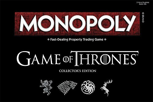 Board Game - Deluxe Game of Thrones Monopoly by Winning Moves