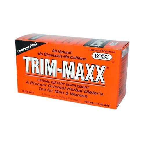 Body Breakthrough Trim-maxx Herbal Dieters Tea Orange - 30 Tea Bags, 30 Count