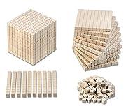 Mathematischer Würfel - Montessori-Material - Dienes Material zur Mächtigkeit der Zahlen